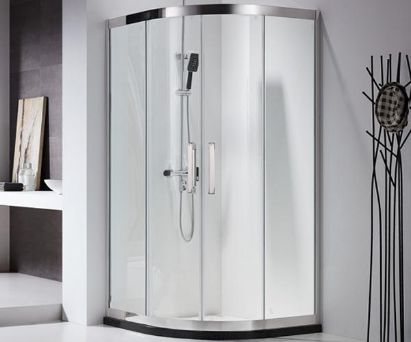 圆弧型淋浴房