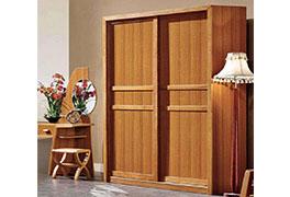 实木衣柜移门